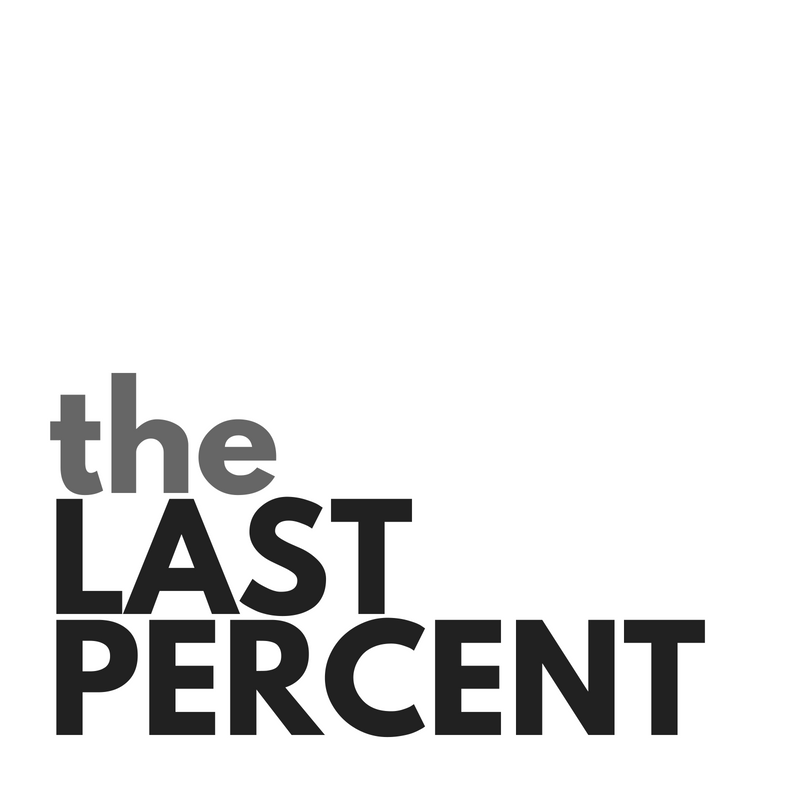 The Last Percent of Happiness
